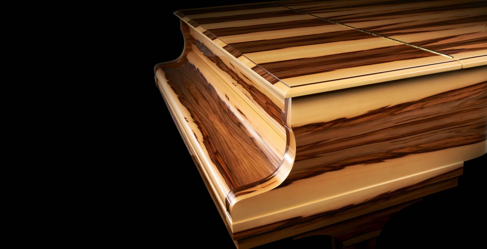 Amber Wood Detail