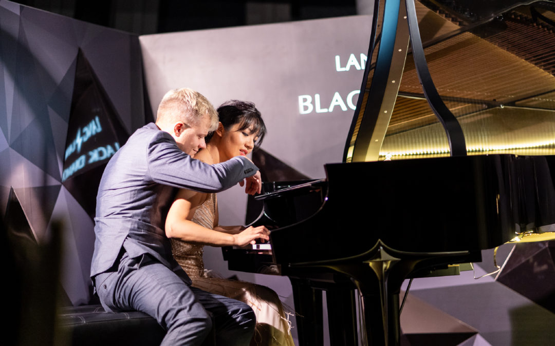 Anderson & Roe wowed guests on the Limited Edition Steinway & Sons Black Diamond Piano at its Asia Launch
