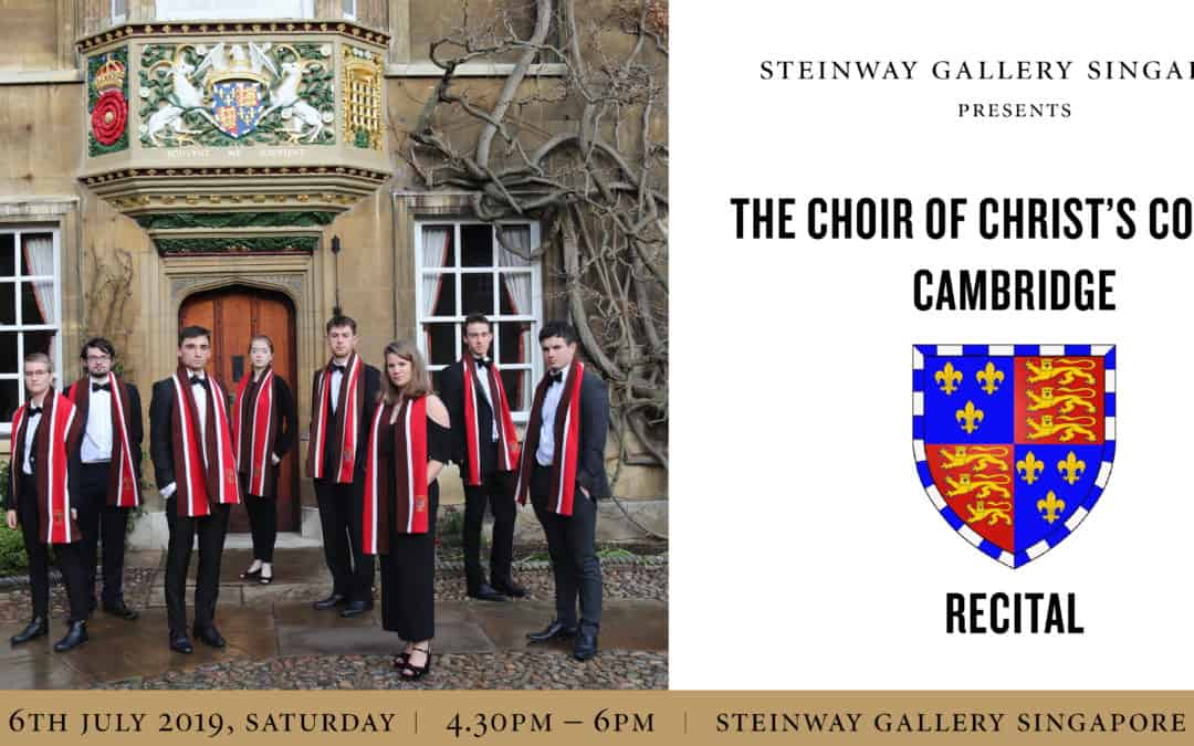6 July 2019 – The Choir of Christ's College Cambridge Concert