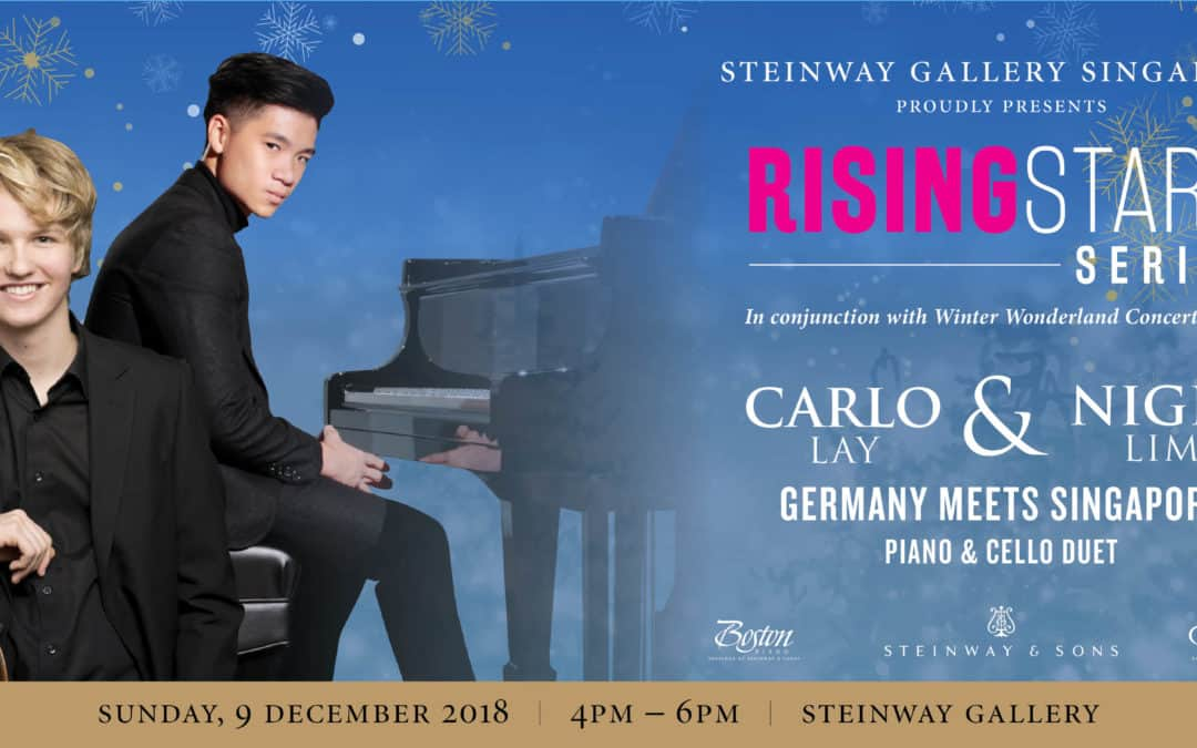 9th December 2018 – Rising Stars Series Carlo Lay & Nigel Lim – Germany meets Singapore