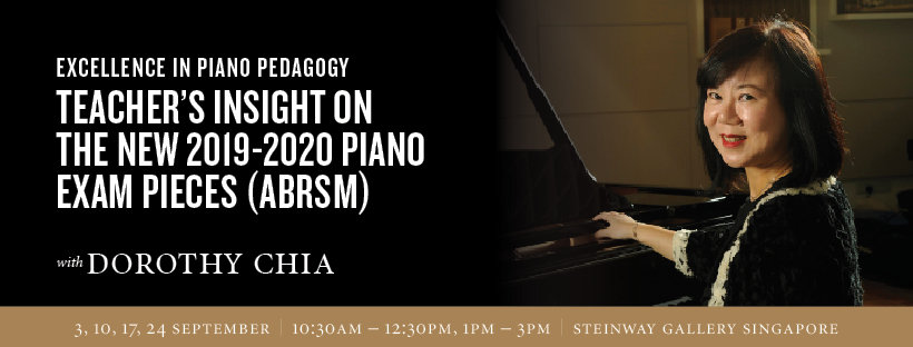 3rd – 24th September: Excellence in piano pedagogy ABRSM