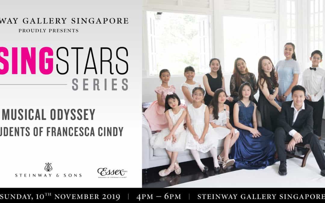 10 November 2019 – Rising Stars Series: Musical Odyssey by Students of Francesca Cindy