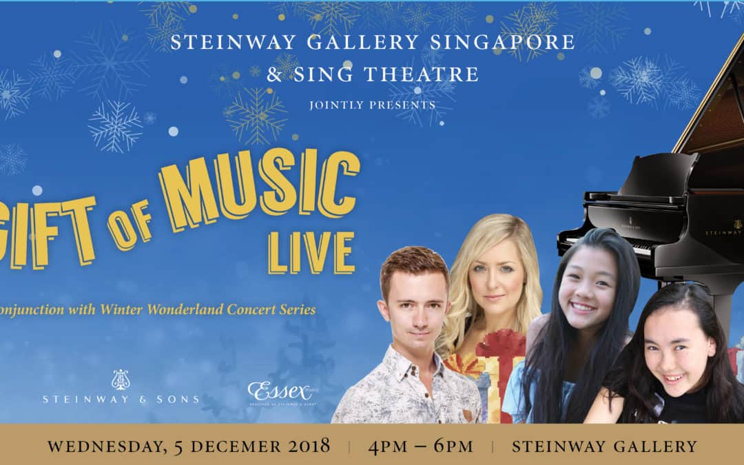 5th December 2018 – A Gift Of Music Live performance by Sing Theatre