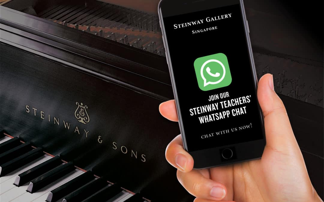Steinway Gallery Teacher's Whatsapp Chat Launched