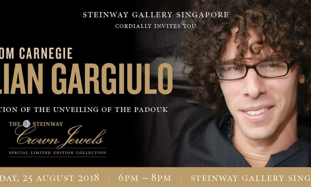 25th August 2018 : Direct From Carnegie with Julian Gargiulo (Unveiling of the Special Crown Jewel)