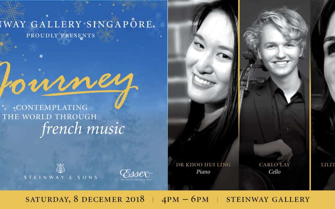 8th December 2018 – Journey: Contemplating the World Through French Music