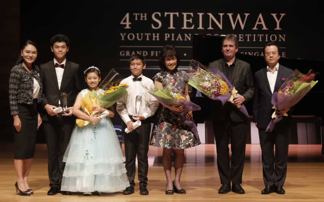Eleven Year Old is Grand Prize Winner of 4th Steinway Youth Piano Competition 2018