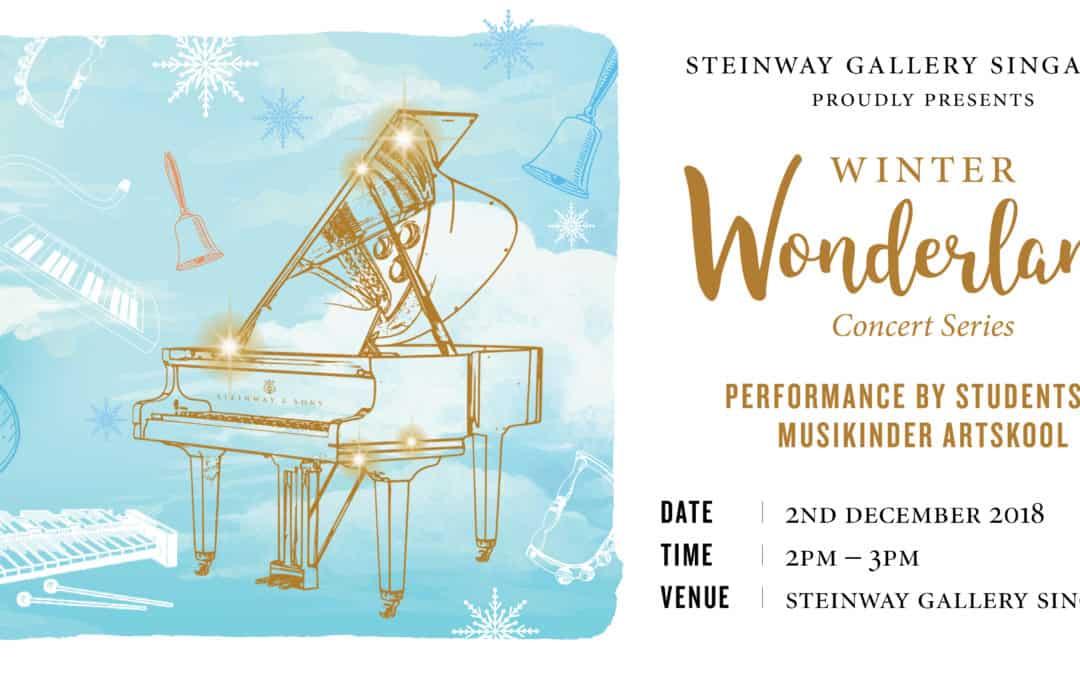2nd December 2018 – Winter Wonderland Concert  Performance by Musikinder Artskool