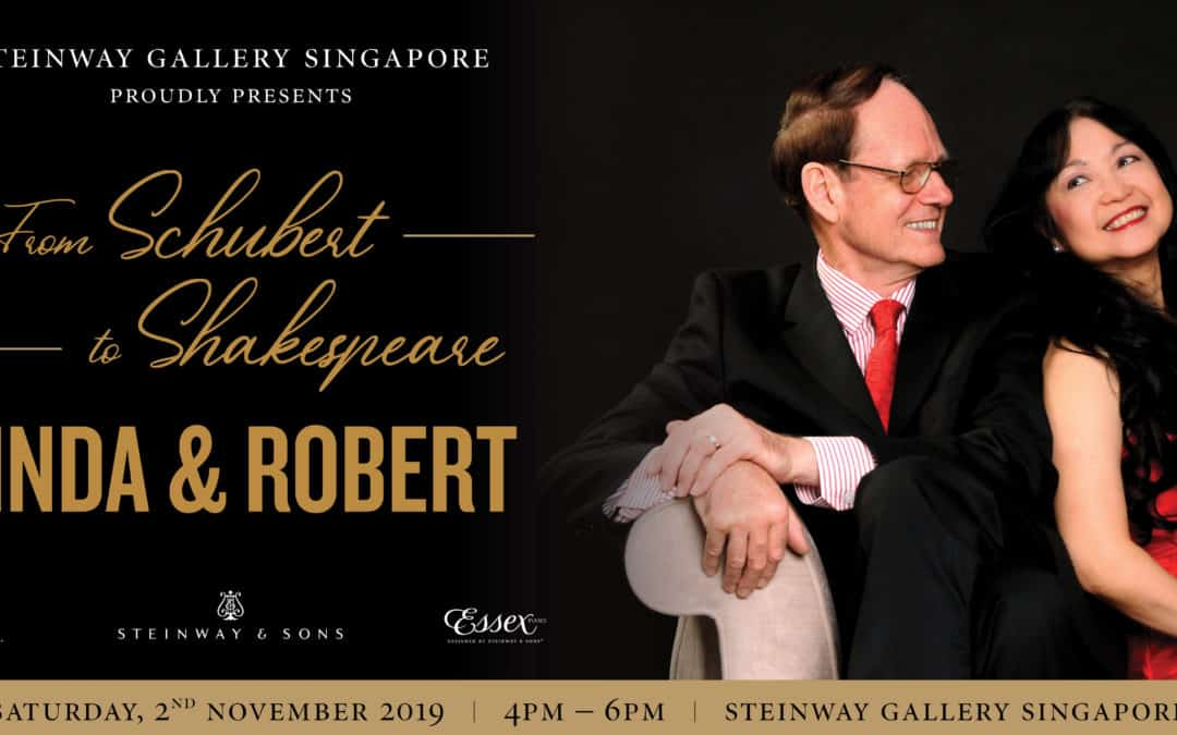 2 November 2019 – From Schubert to Shakespeare by Linda & Robert