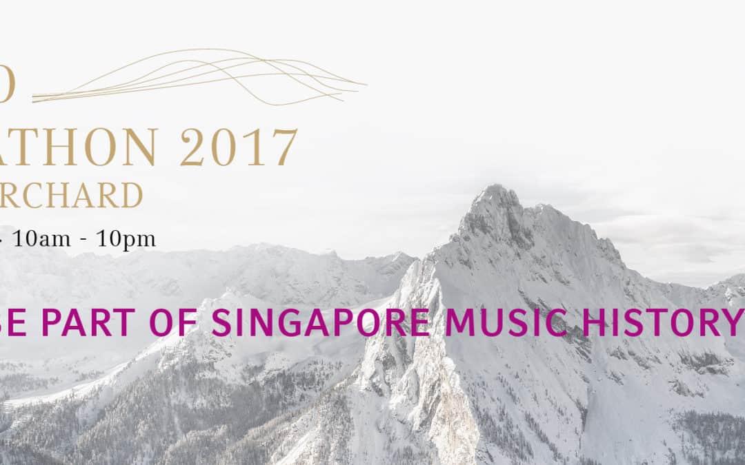 PIANO MARATHON AT ION ORCHARD 2017