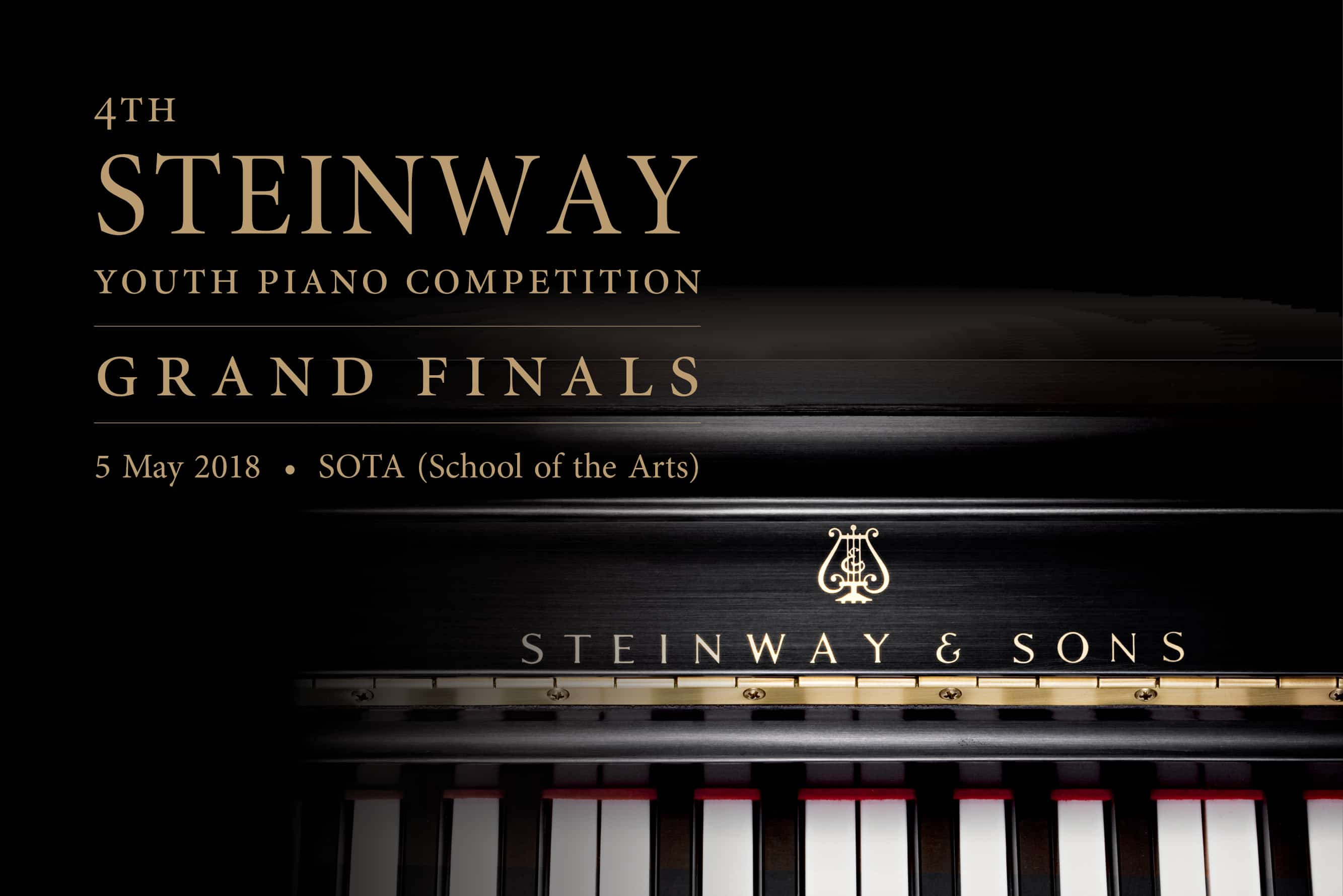 4th Steinway Youth Piano Competition - Grand Finals