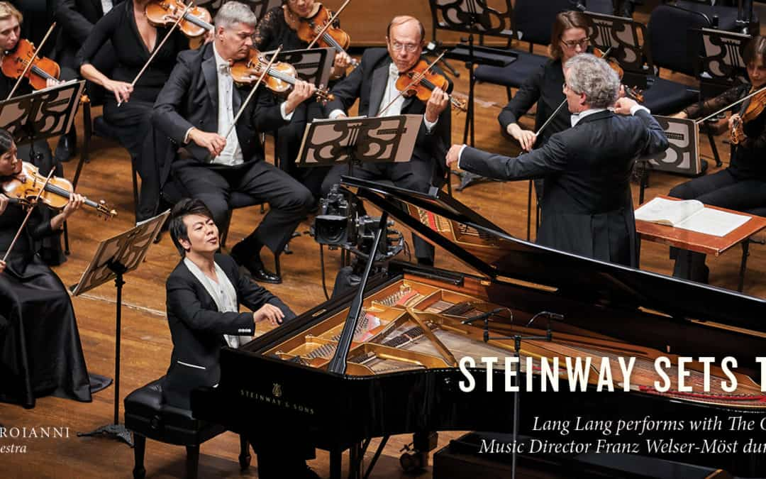 STEINWAYS SETS THE STAGE