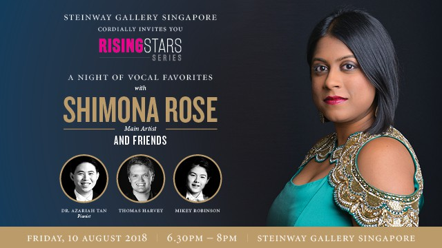 10th August 2018: A NIGHT OF VOCAL FAVORITES