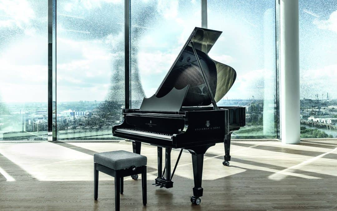 STEINWAY & SONS & ELBPHILHARMONIE Celebrates the new cultural landmark of the city of Hamburg with limited edition eight grand pianos
