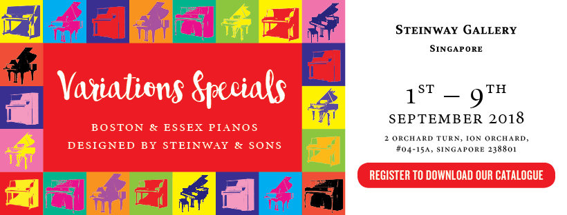 1 – 9 Sep: Variations Specials Sales Event