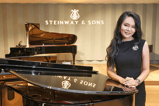 Article by Business Times: The sound of music goes high-tech. Steinway is counting on its new self-recording playback piano to tune up sales growth.