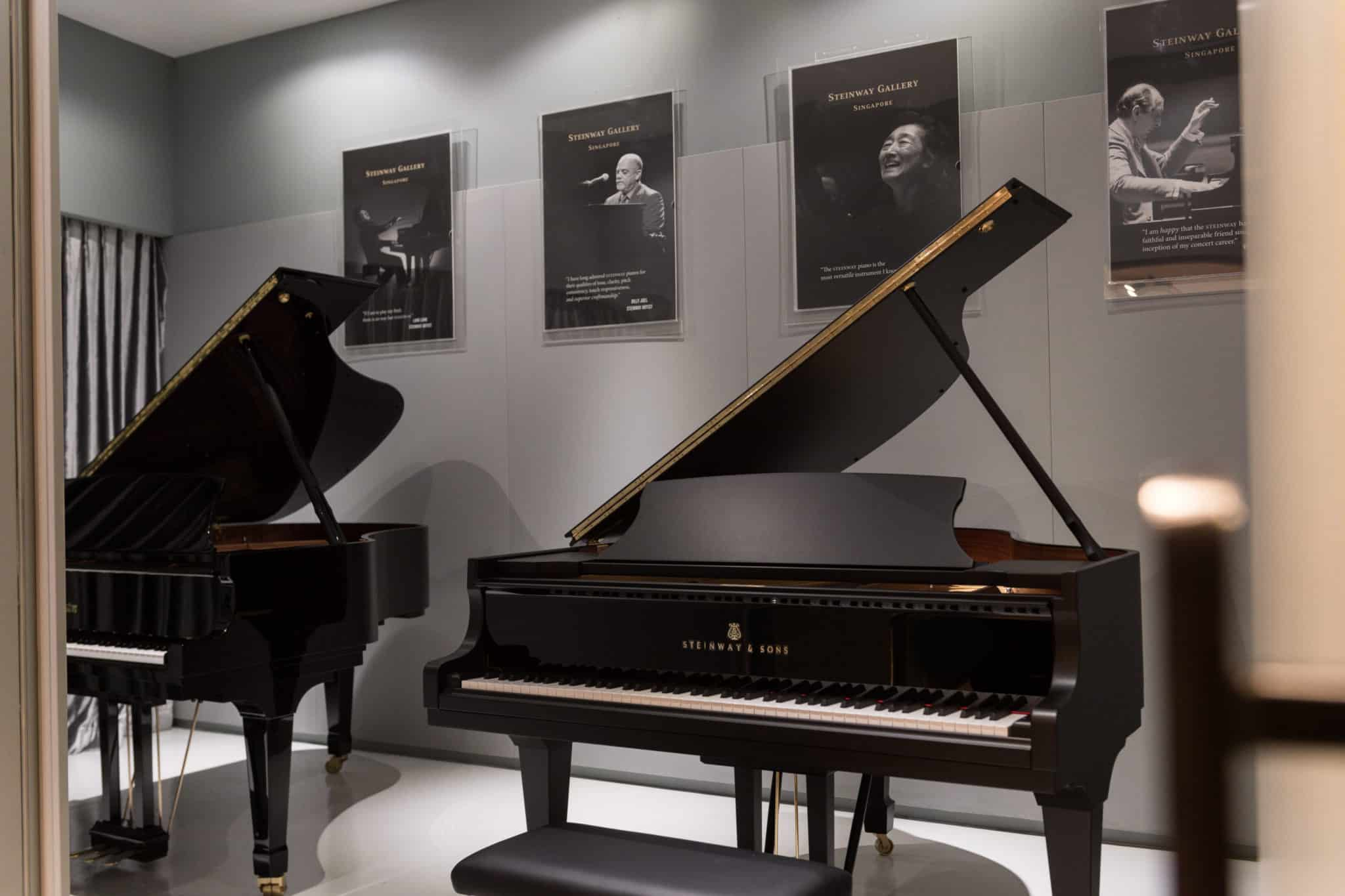 Piano Rental Singapore Practice Studio Image